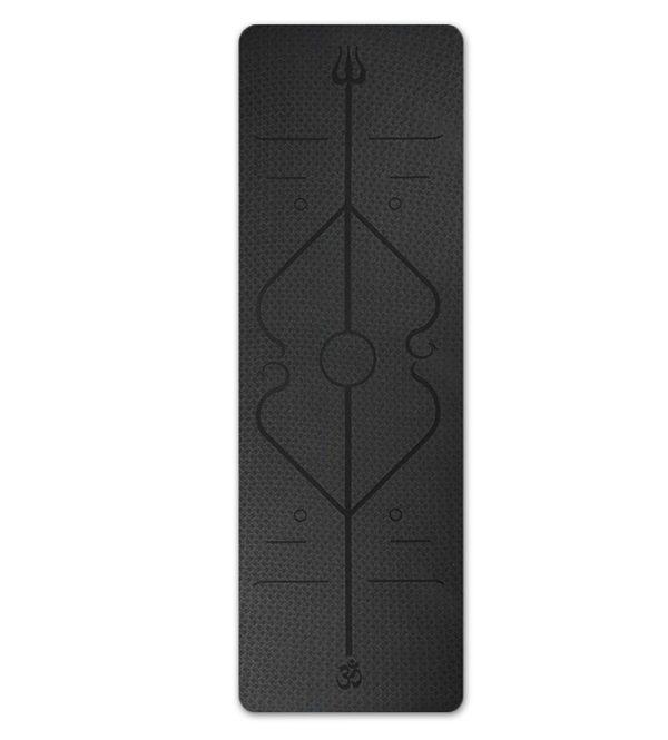 tapis-yoga-antiderapant-design-noir