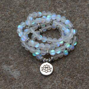 Bracelet Mala «Crystal Givré»