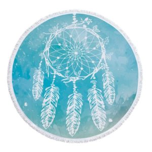 Serviette Ronde « Dreamcatcher » – 12 styles disponibles