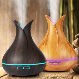 Diffuseur huiles essentielles / Humidificateur d'air avec télécommande