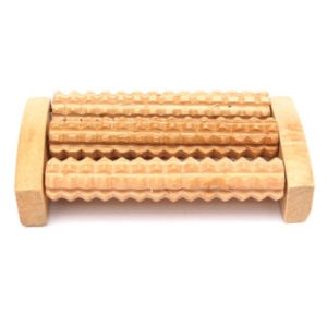 Rouleau de réflexologie en bois